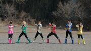 Gokaiger helmetless (Super Hero Taisen)