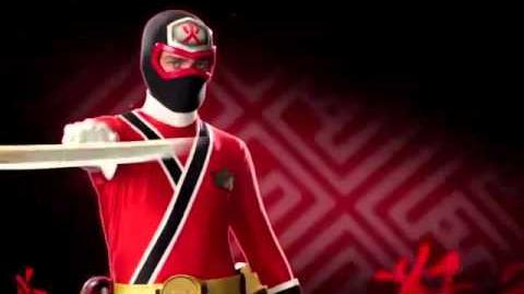 Power Rangers Samurai Morph Sequence