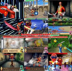 Gokaiger DS Game