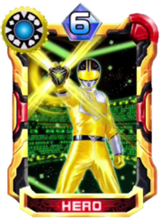 TimeYellow Card in Super Sentai Legend Wars