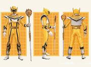 Желтый Легендарный Воин