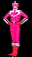 Pink Time Force Ranger