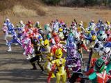 Comparison:Gokaiger Goseiger Super Sentai 199 Hero Great Battle vs. End Game (Megaforce)