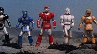 Mighty Morphin Alien Rangers - Battle Borgs Zords - Power Rangers