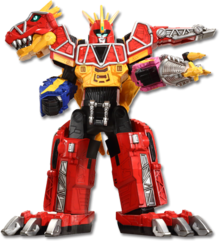 Dino Charge Megazord (Power Rangers Dino Charge)