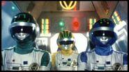 Bioman Green-Yellow-Blue cockpit