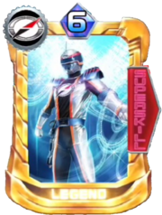 BoukenSilver Card in Super Sentai Legend Wars