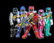 Power Rangers Dino Charge (Team)