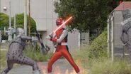 Gokai Change 35 Red Flash