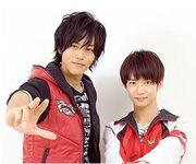 Takeru with Alata