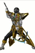 Silver Super Megaforce Ranger Gold Mode Scanner App Assets