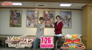 Zi-O and Ryusoul Red dance together
