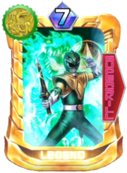 DragonRanger Card in Super Sentai Legend Wars