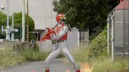 Gokai Change 35 Red Falcon