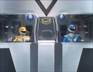 Blue & Yellow in Jet Garuda