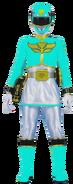 Cyan Megaforce Ranger