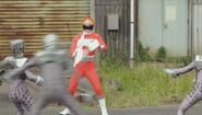 Gokai Change 35 DenziRed