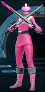 Legacy Wars Pink Time Force Ranger