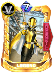 LupinYellow Card in Super Sentai Legend Wars