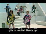 Girls in trouble! DEKARANGER