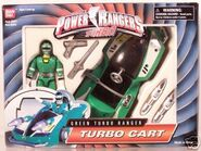Green Turbo Ranger Turbo Cart