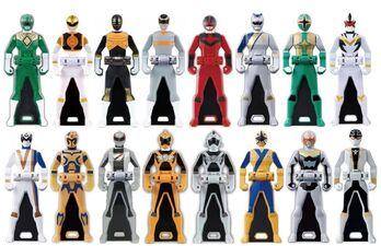 Legendary 6th Ranger Keys