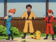Pokemon 2000 before Hurricanger colors 2002