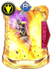 AbareBlack Card in Super Sentai Legend Wars