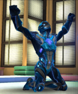 Legacy Wars Blue Ranger 2017 Movie Victory Pose