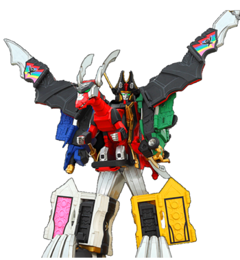 Legendary Mystic Force Megazord