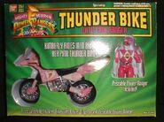Thunder Bike with Pink Ranger