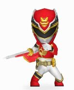 Red Megaforce Ranger In Power Rangers Dash