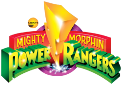 Mighty Morphin Power Rangers Season 1 to 3 logo