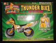 Thunder Bike with Yellow Ranger