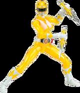 Legacy MMPR Yellow Ranger Metallic