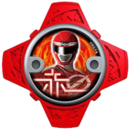 Operation Overdrive Red Ninja Power Star (V2)