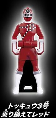 ToQ 3 Red Ranger Key