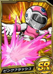 Pink Flash in Battle Base