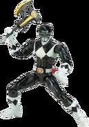 Legacy MMPR Black Ranger Metallic