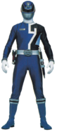 Blue Space Patrol Delta Ranger