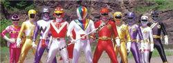 Dream Sentai and Gaorangers