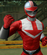 Legacy Wars Red Time Force Ranger Victory Pose