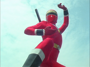 NinjaRed Gaoranger vs. Super Sentai
