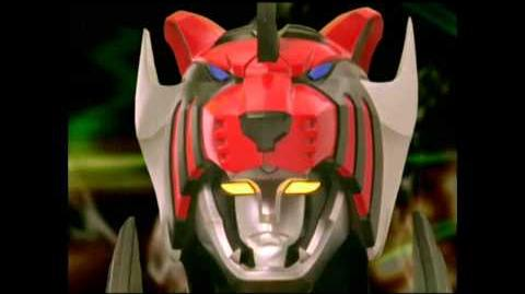 Power Rangers- Jungle Fury - Jungle Pride Megazord Transformation
