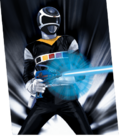 In-space-black-ranger