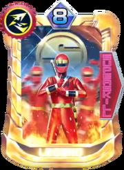 NinjaRed Card in Super Sentai Legend Wars