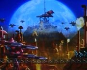 Machine Moon Base