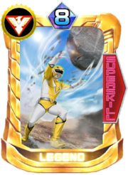Yellow Owl Card in Super Sentai Legend Wars