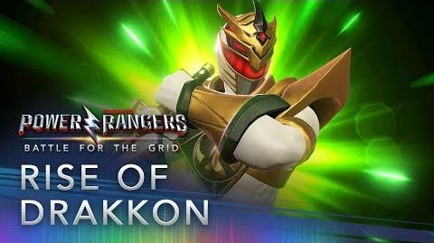 Power Rangers Battle for the Grid - Rise of Drakkon Trailer
