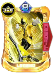 ShinkenYellow Card in Super Sentai Legend Wars